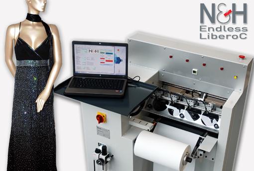 N&H Endless Libero C Rhinestone Machine